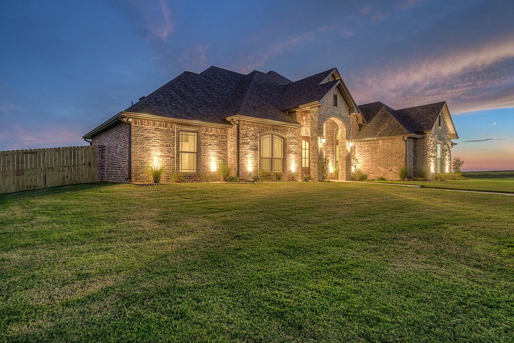 Twilight Photography - 148 Bush Buck Way, Bullard, TX - Jayson Chandler Homes, Inc.
