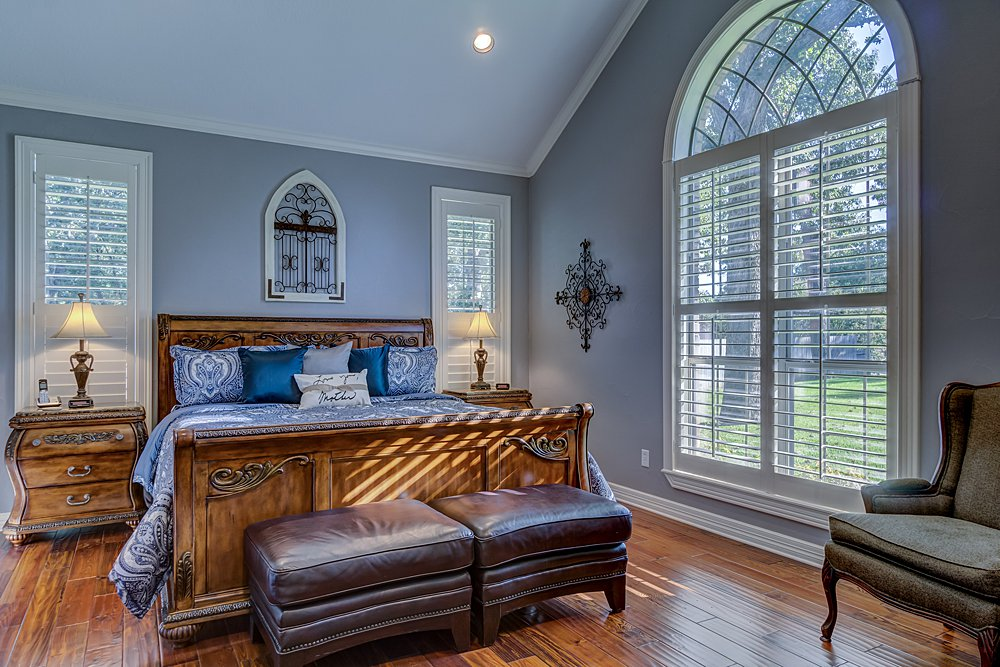 Master Bedroom - 8207 Robert E Lee, Tyler, TX - Holly Hightower - WP & Company