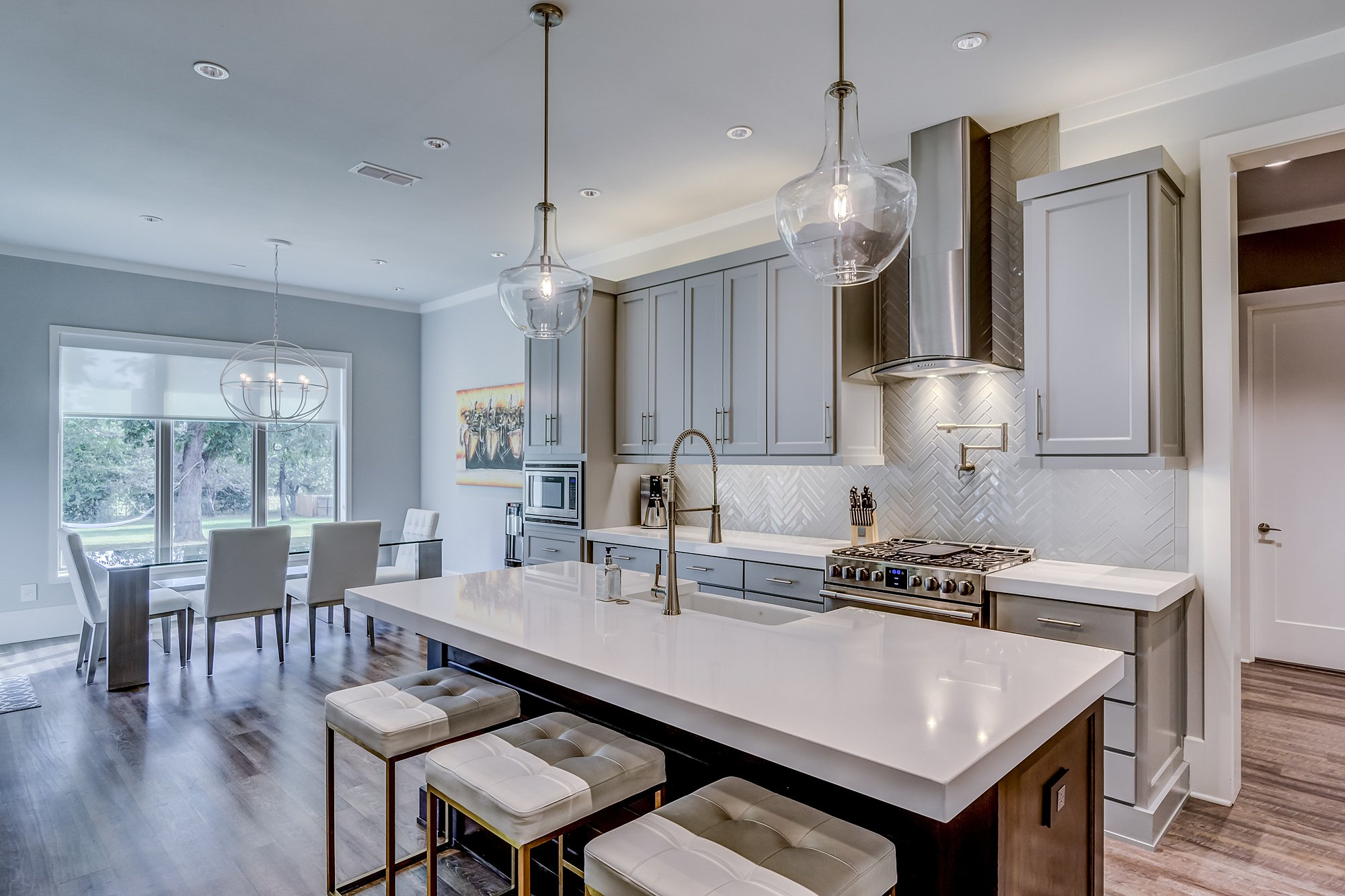 Kitchen - 300 Deer Crossing, Bullard Texas - Megan Clader - Drake Real Estate