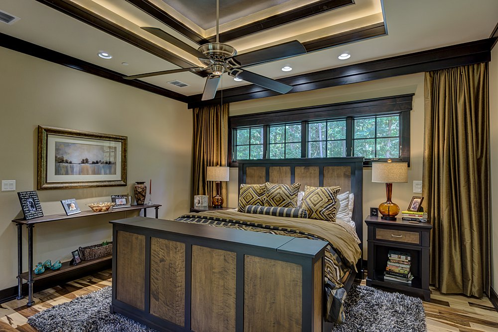 Master Bedroom - Longview, TX - Scott Hamilton Custom Builder