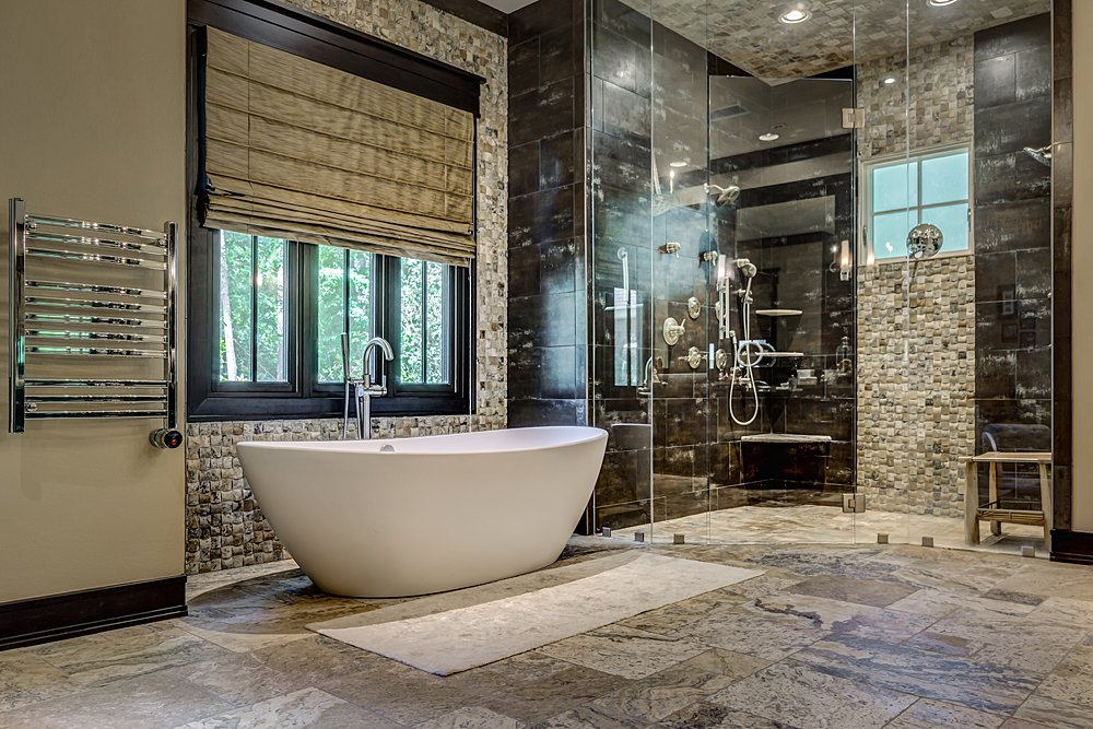 Master Bathroom - Longview, TX - Scott Hamilton Custom Builder