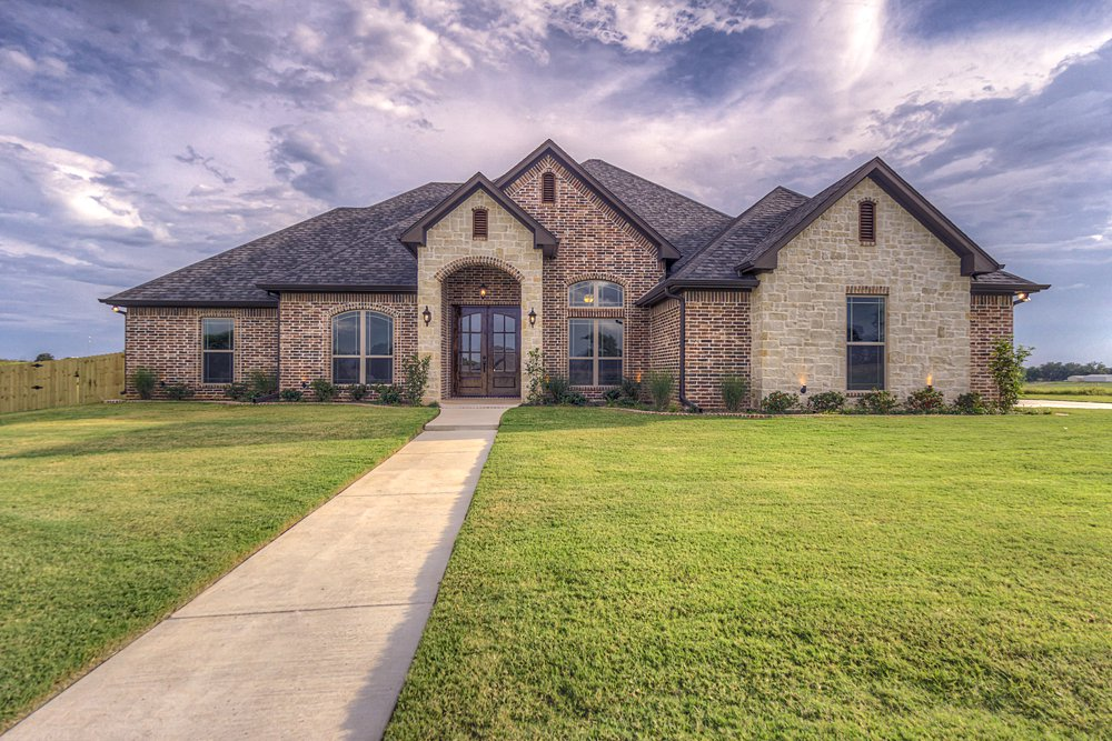 Exterior Marketing Photography - 148 Bush Buck Way, Bullard, TX - Jayson Chandler Homes, Inc.