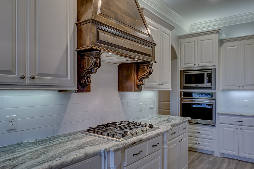 Kitchen Marketing Photography - 148 Bush Buck Way, Bullard, TX - Jayson Chandler Homes, Inc.