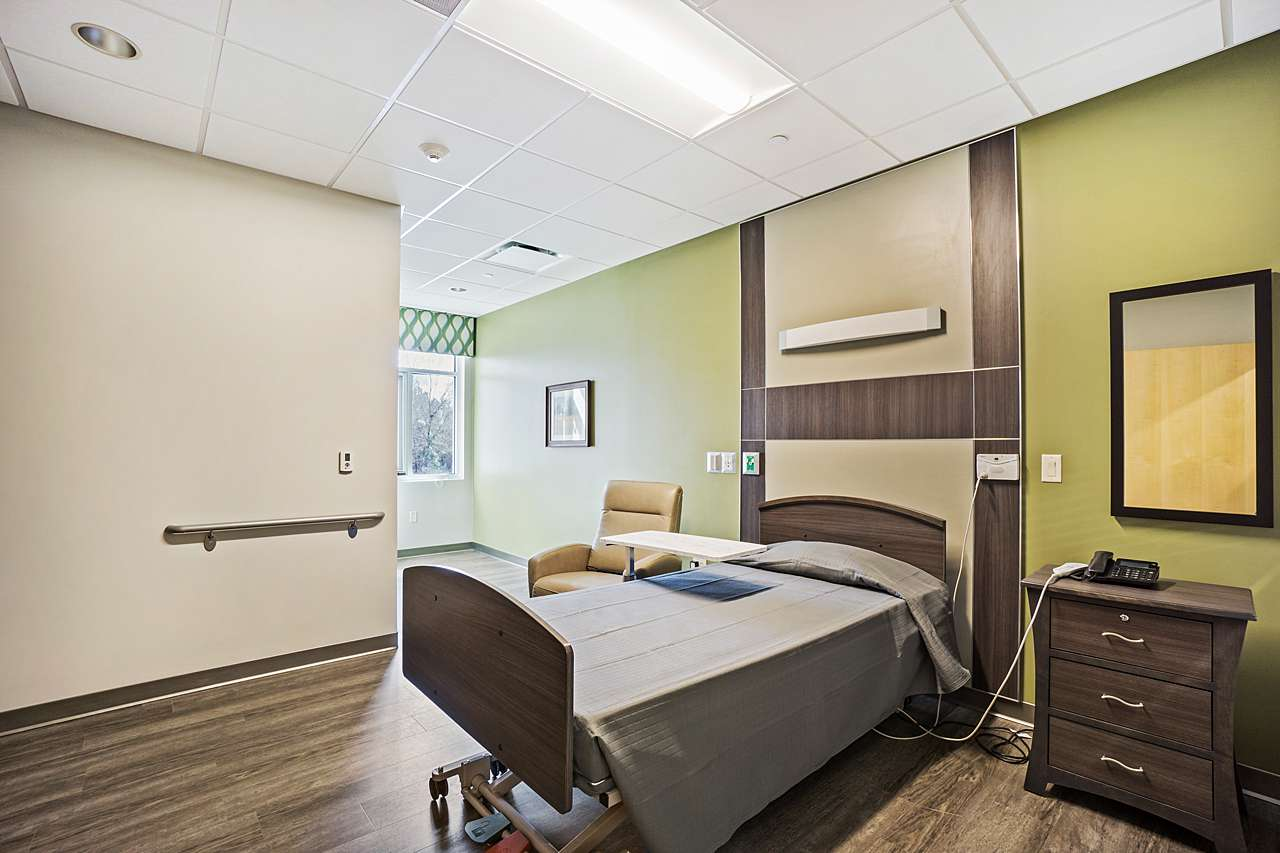 Patient Room at The Center at Grande